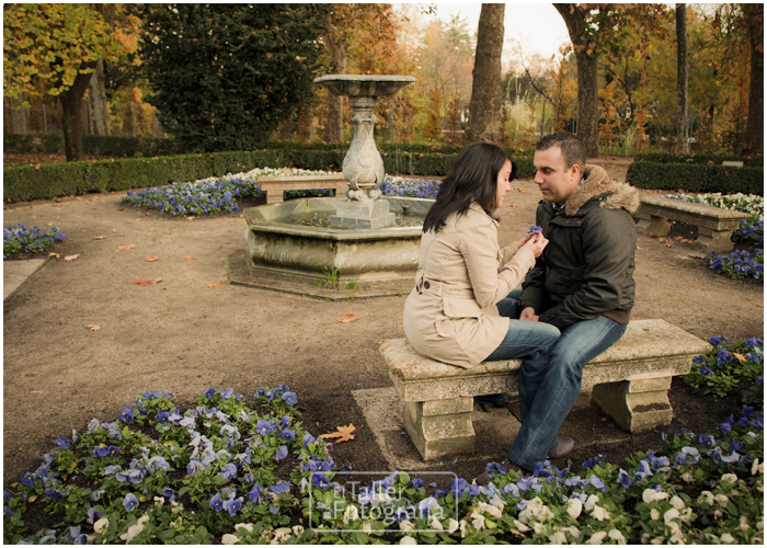 Jorge vanessa e session el capricho madrid el for Boda madrid jardin