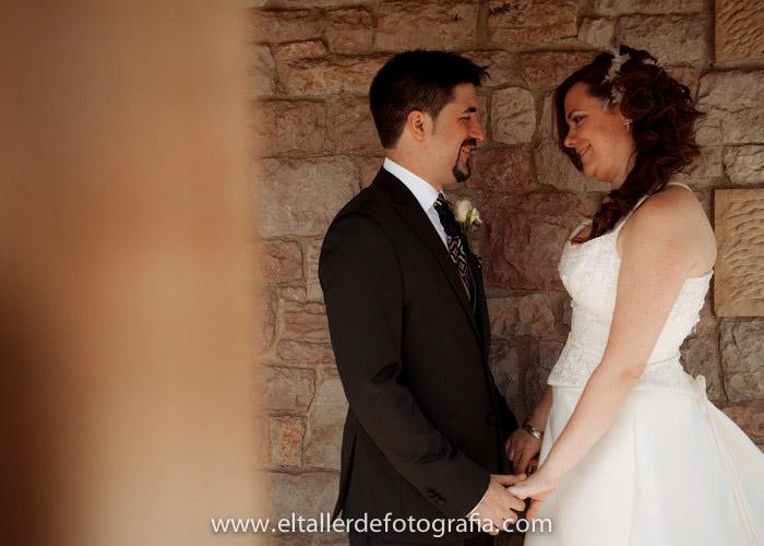 reportaje de boda en el restaurante el pinal