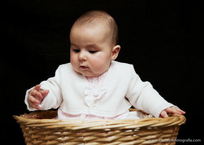 Fotos divertidas de Bebes - Reportaje de Estudio