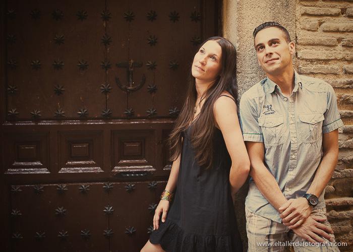 Pre-boda en Toledo - Fotografo de bodas - Alvaro y Carol - El Taller de Fotografia-1004