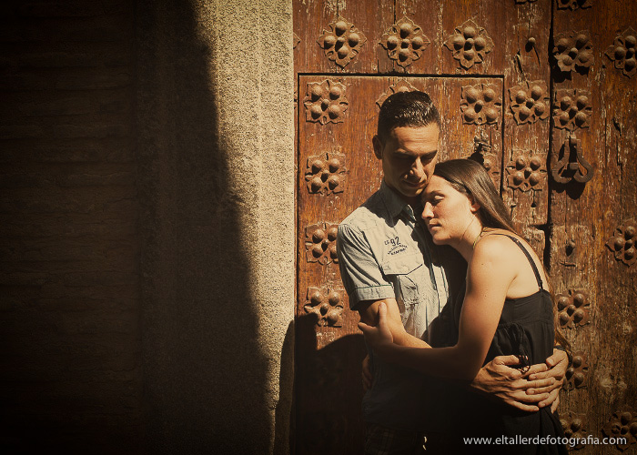 Pre-boda en Toledo - Fotografo de bodas - Alvaro y Carol - El Taller de Fotografia-1006