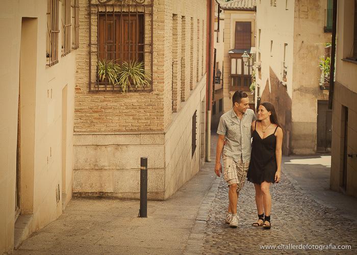 Pre-boda en Toledo - Fotografo de bodas - Alvaro y Carol - El Taller de Fotografia-1008