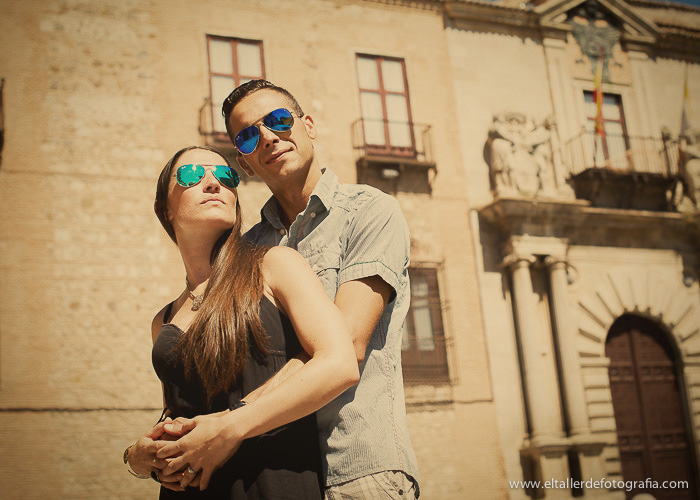 Pre-boda en Toledo - Fotografo de bodas - Alvaro y Carol - El Taller de Fotografia-1012