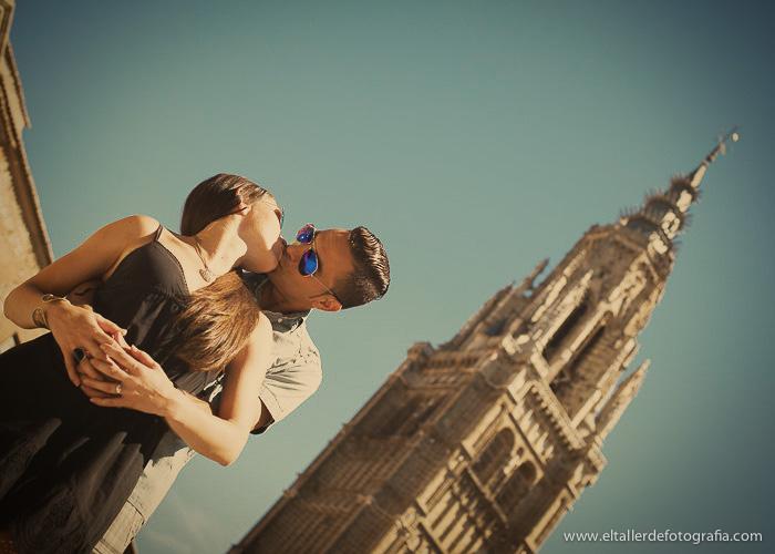 Pre-boda en Toledo - Fotografo de bodas - Alvaro y Carol - El Taller de Fotografia-1012A