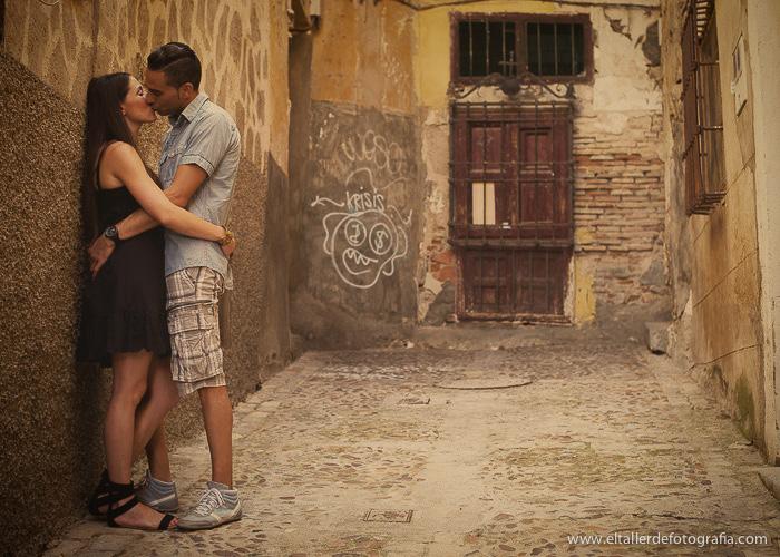 Pre-boda en Toledo - Fotografo de bodas - Alvaro y Carol - El Taller de Fotografia-1016