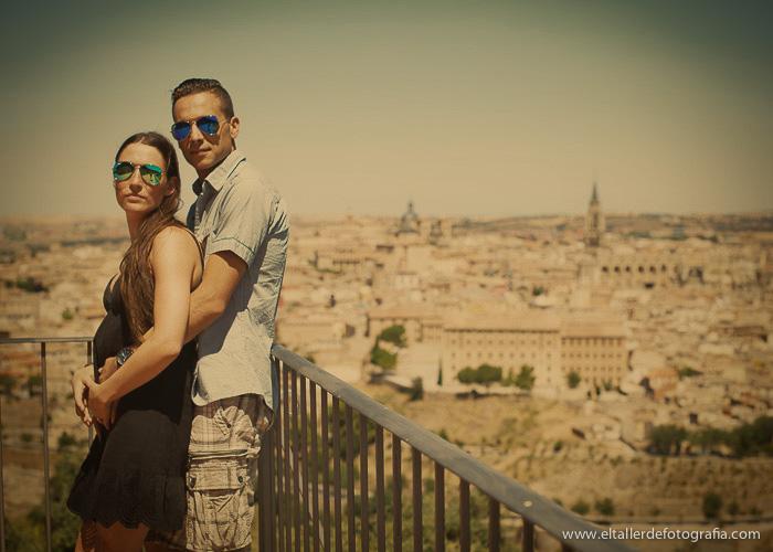 Pre-boda en Toledo - Fotografo de bodas - Alvaro y Carol - El Taller de Fotografia-1019A