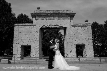 Boda en la Casa de Burgos - Araceli Casa de Campo - Fotografo de boda en Madrid - Juanma e Isa