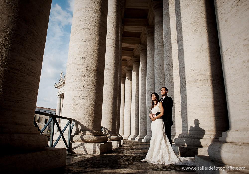 Posboda en Roma - Alberto y Myriam - El Taller de Fotografia -1001