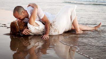 Preboda en la Playa al atardecer – Javier y Vanessa