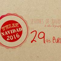 SESIONES DE FOTOS DE NAVIDAD 2016