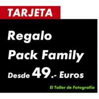 10 TARJETAS REGALO REYES 2017 – PACK FAMILY