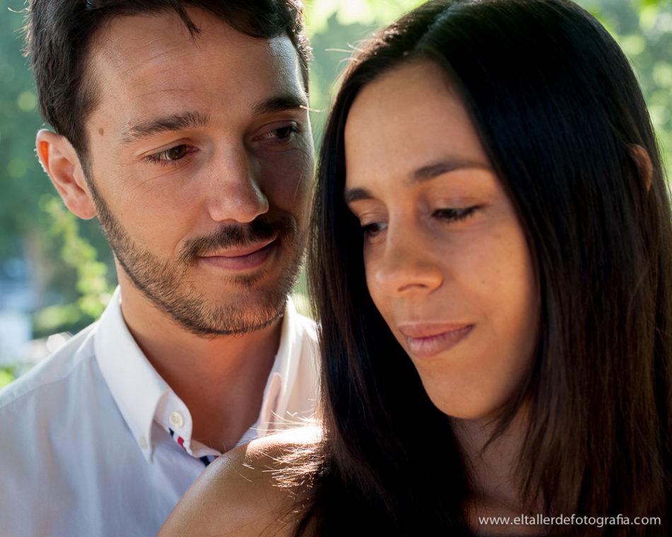 Preboda en Madrid - Detalle de la mirada del chico a la chica