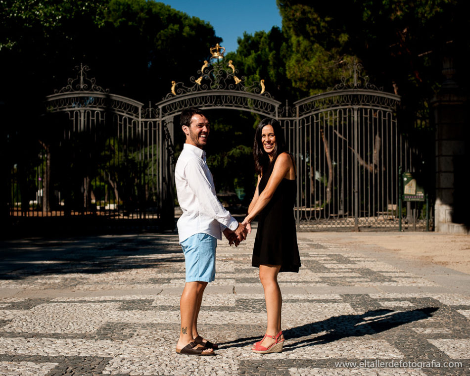 Preboda en Los Jardines de Sabatini del Palacio Real de Madrid