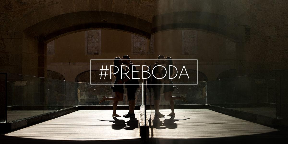 Fotografia de Preboda en Zamara - Contraluz en el interior del Castillo - Cabecera de la pagina de Inicio de El Taller de Fotografia