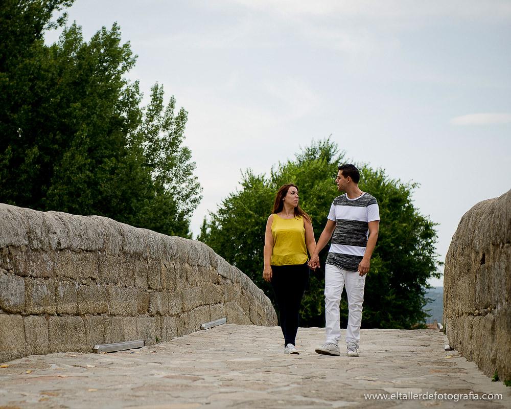 Reportaje de Pareja en Navaluenga cerca del Pantano de Burguillo
