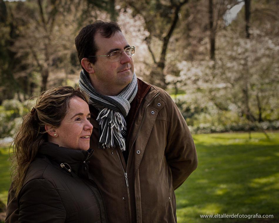 Fotos de Pareja en el Parque de El Capricho en Madrid