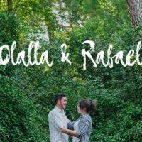 Preboda de Olalla y Rafael en el parque de El Capricho