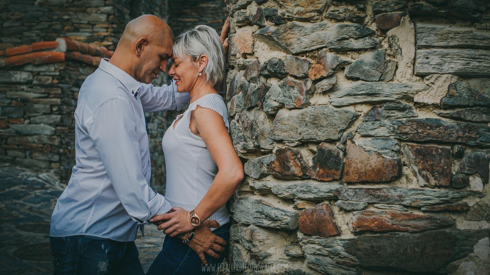 Reportaje de pareja en Patones de Arriba