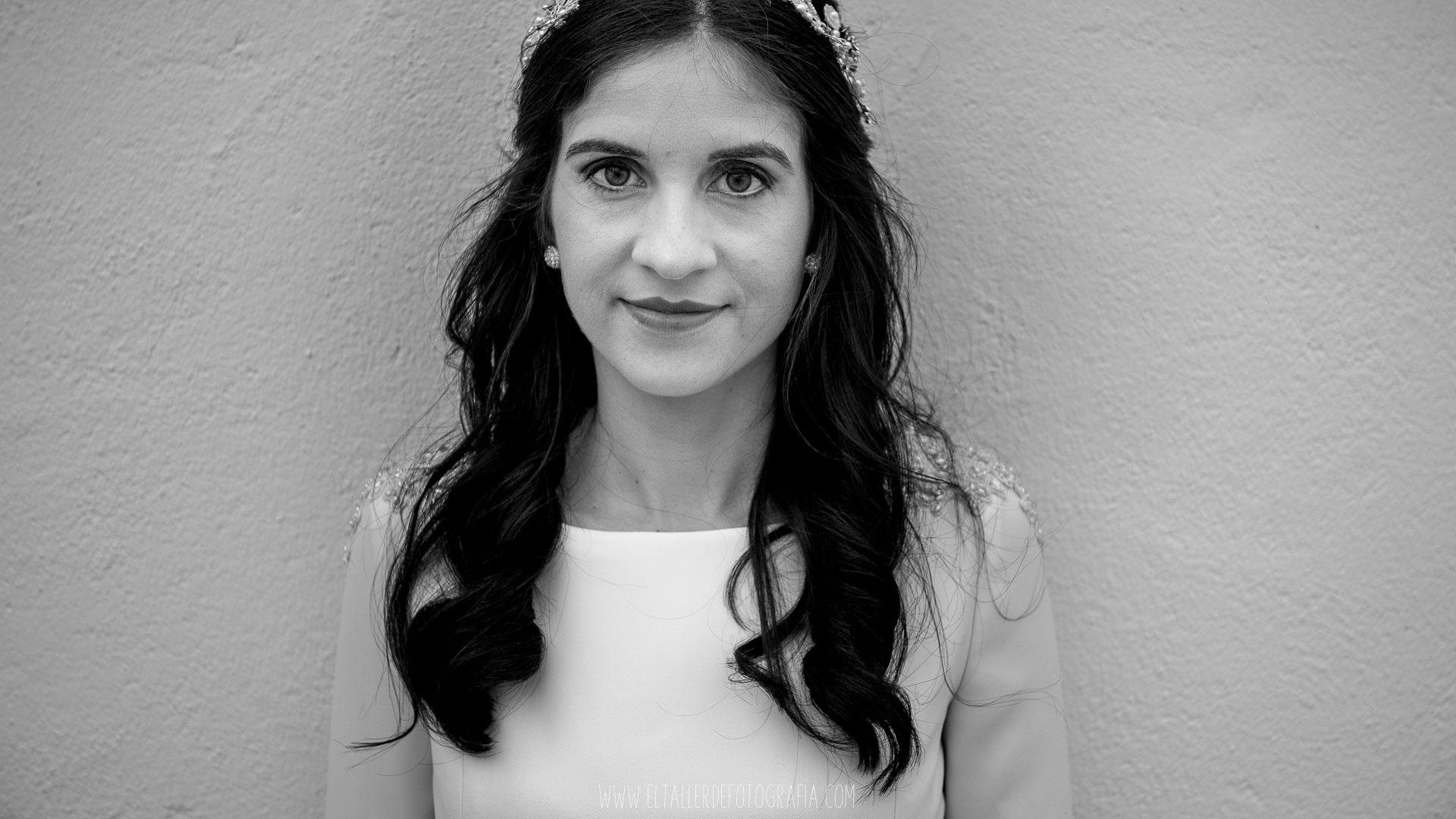 Preparativos de Beatriz - La novia de la boda en Almaden