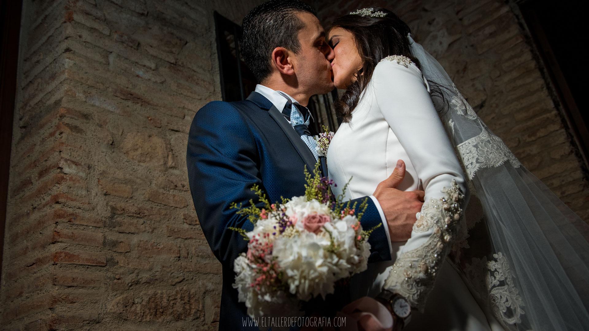 Reportaje de recién casados en Almadén