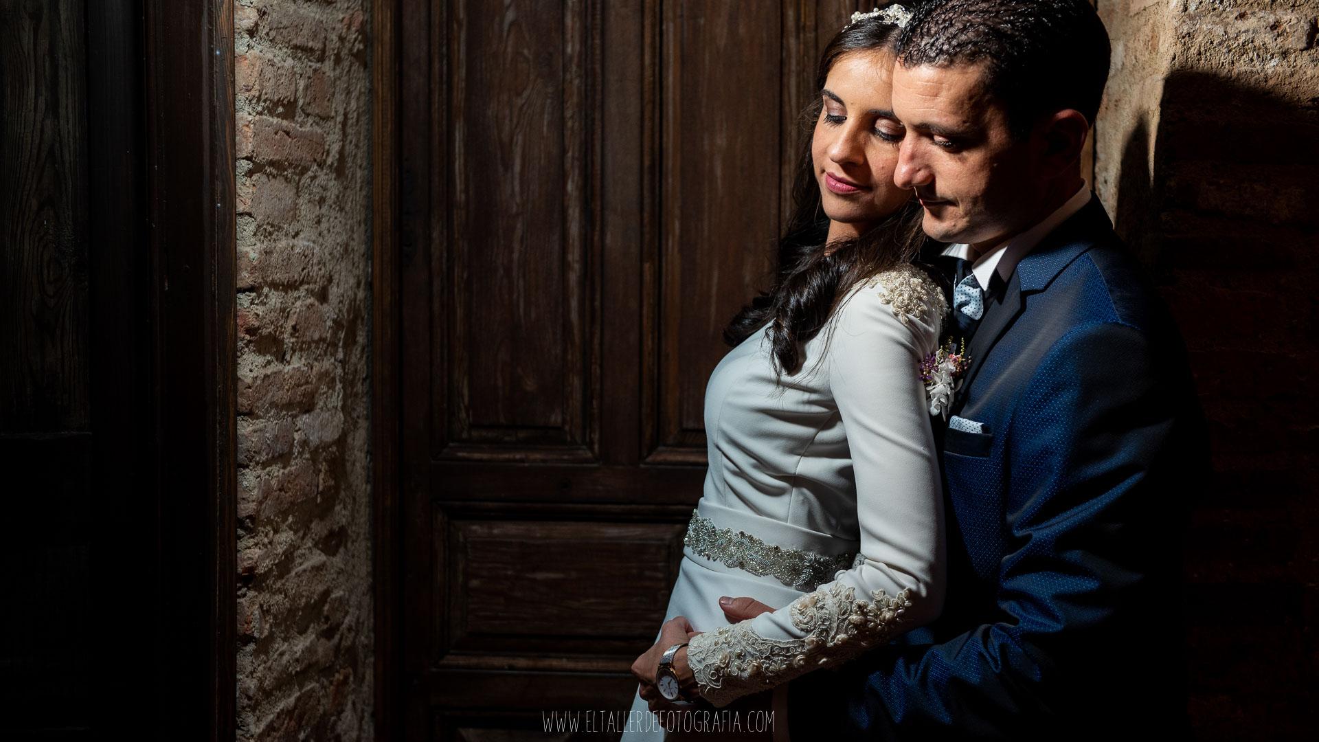 Reportaje de recien casados en Almadén