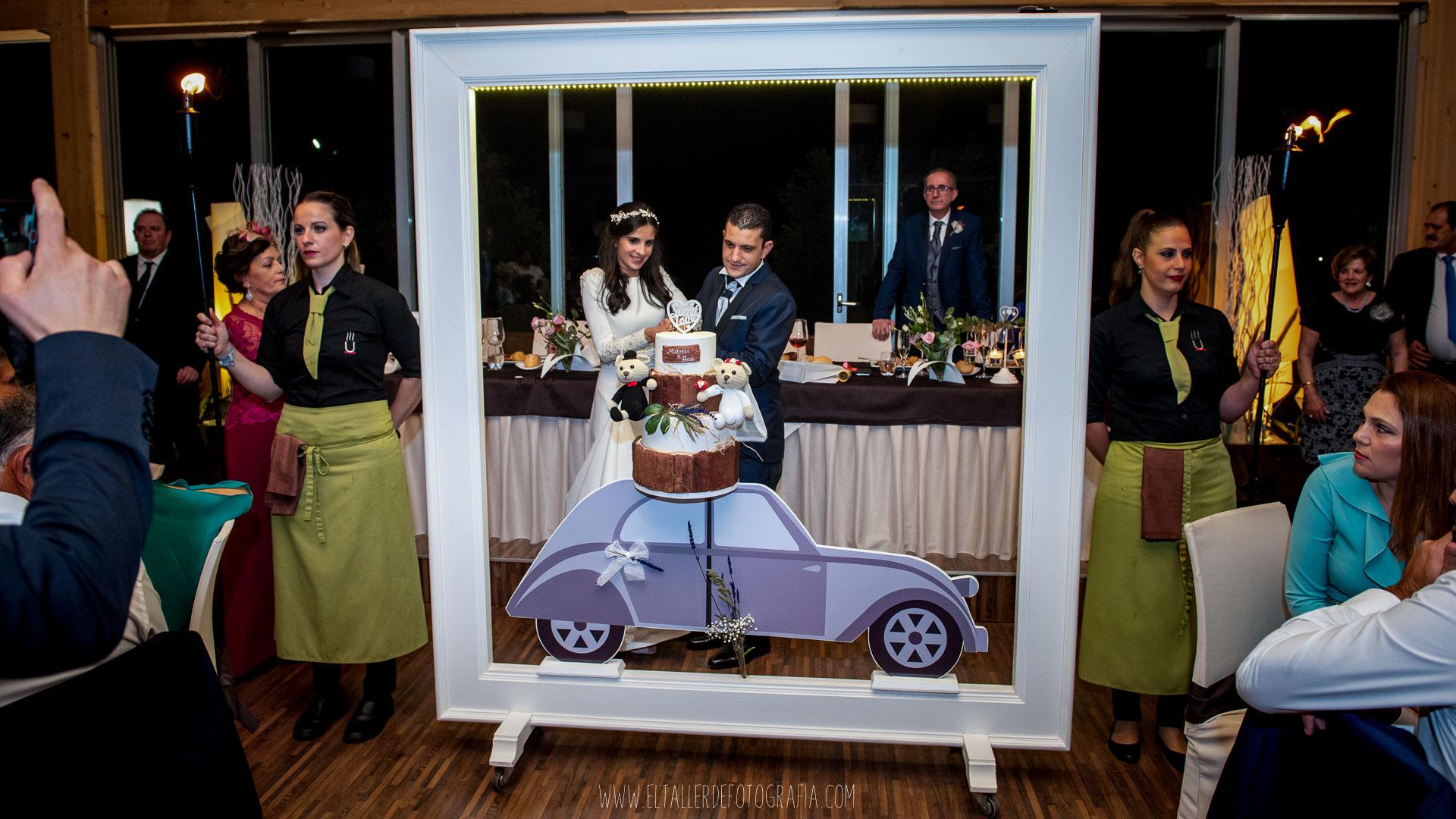 Celebración de la boda de Manuel y Beatriz en La Peraleda