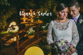 Boda en Fuentearcos de Elena y Carlos - El Taller de Fotografía - Portada 2