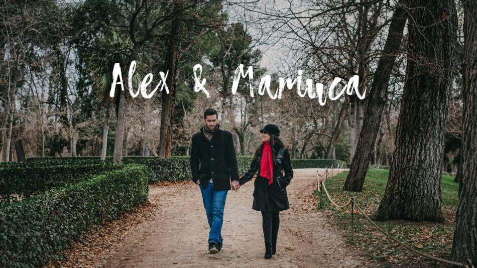 Preboda de Alex y Mariuca en Madrid durante la navidad